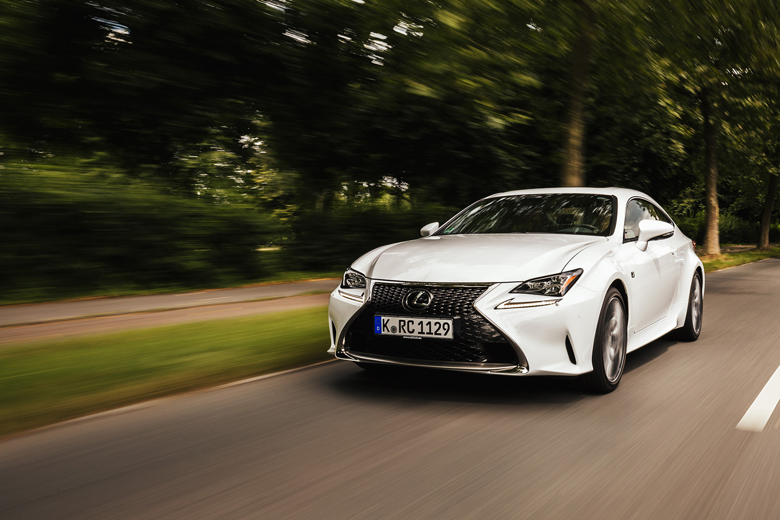 DAVID LEMANSKI LEXUS RC 200T